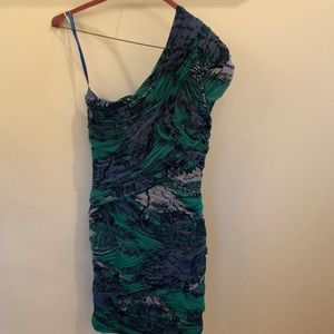 One shoulder BCBG dress